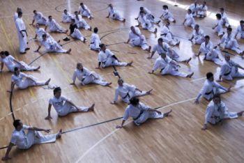 Felkészülés a kijevi Kyokushin Karate EB-re