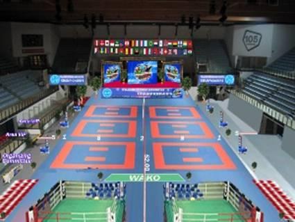 A világbajnokság helyszínének látványterve
