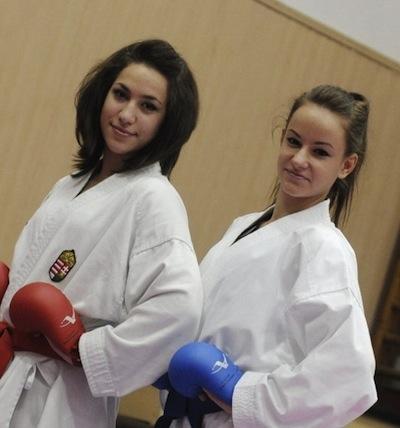 Boussebaa Aicha és Palkovits Nikolett
