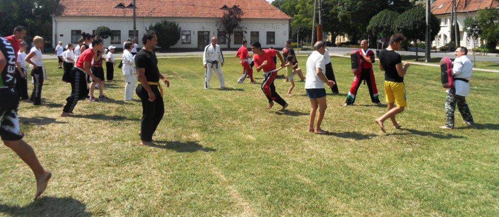 ITF  taekwon-do edzés