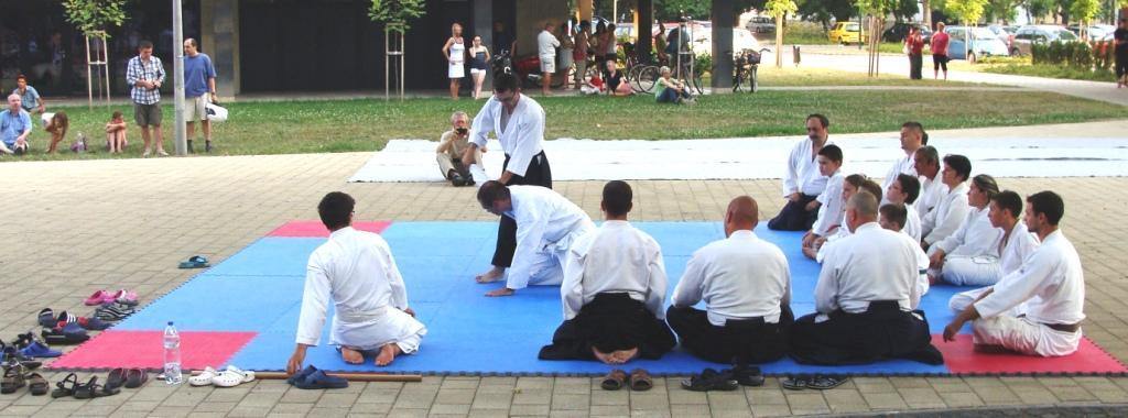 Aikido : Uhrin Béla II.DAN