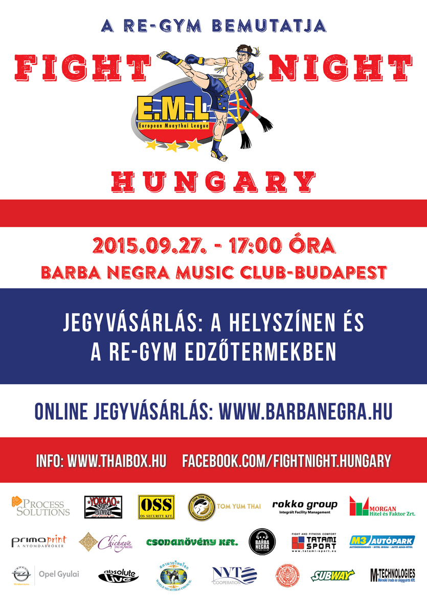 Az esemény plakátja