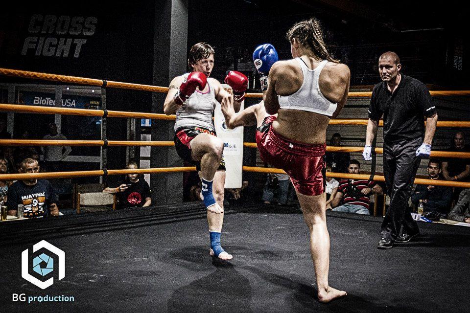 Kovács Alexandra és Rácz Irén küzdenek