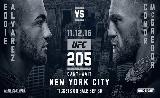 UFC 205 kiterjesztett előzetes