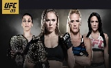 UFC 193 kiterjesztett előzetes